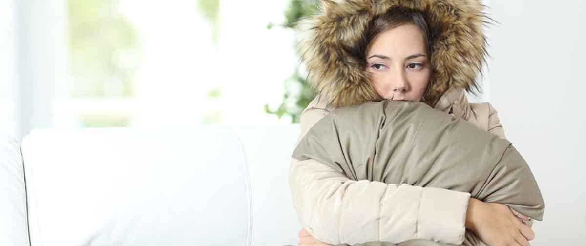 Super cold person
