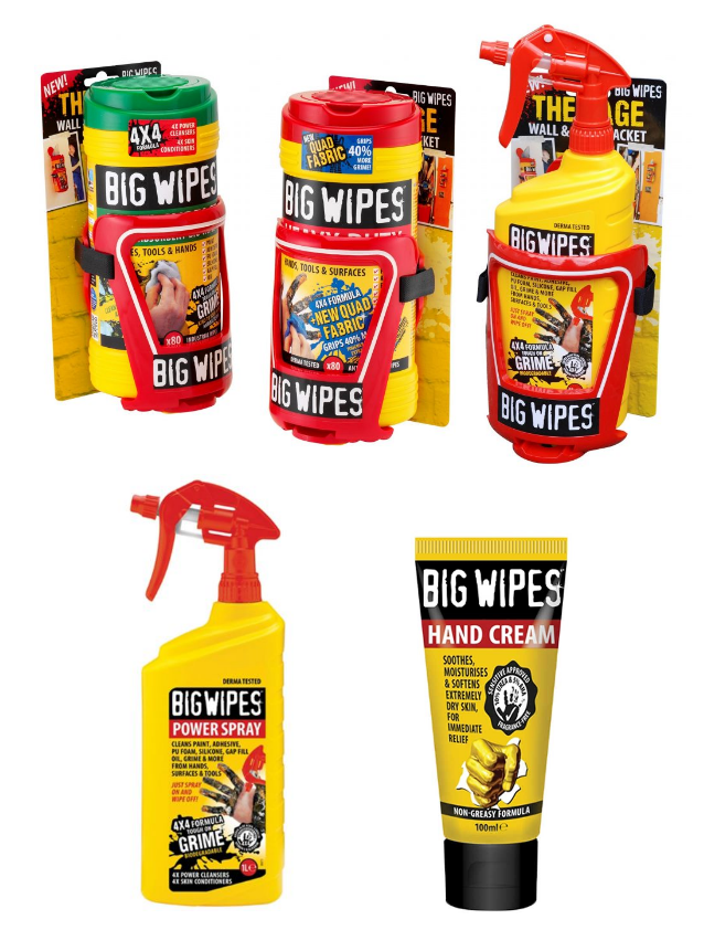 big wipes range