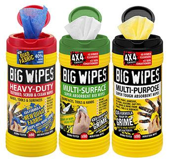big wipes range