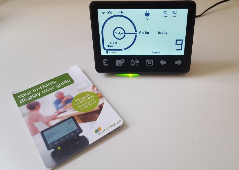 User guide for Scottish power Smart Meter display