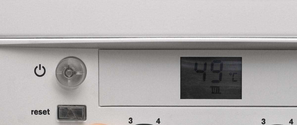 Resetting a boiler