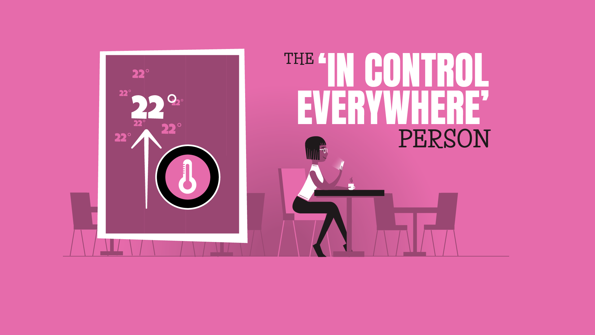 in control everywhere person