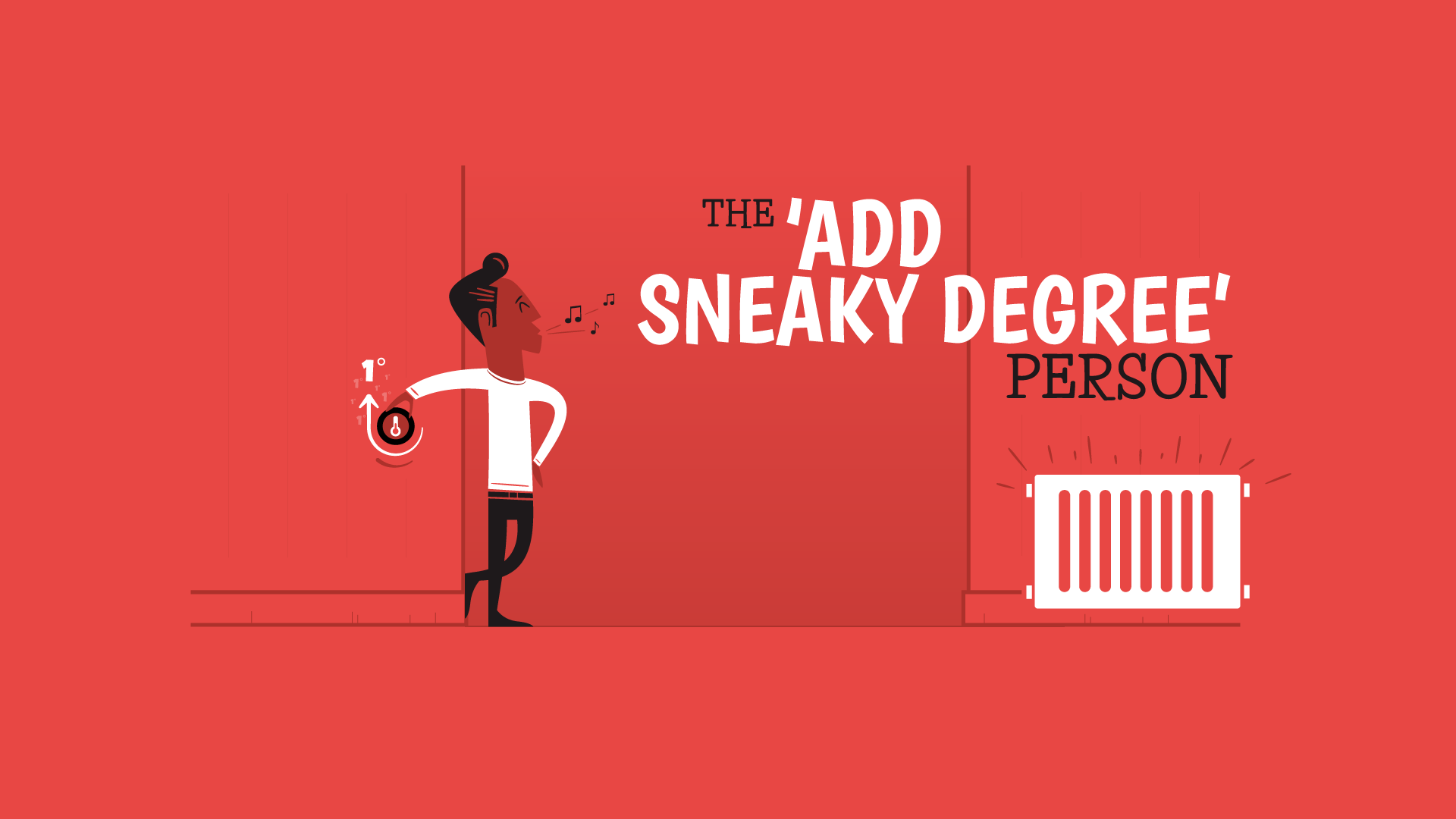 add a sneaky degree
