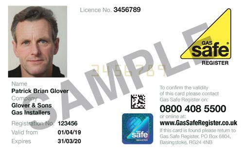 gas safe ID