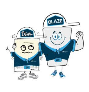 Blink and Blaze