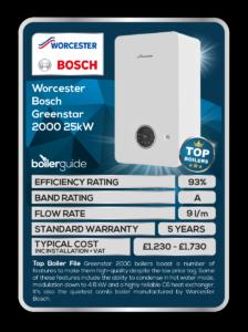 Worcester Bosch Greenstar 2000