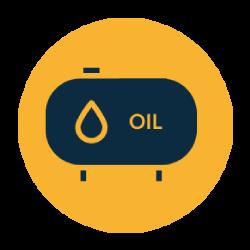 Oil combi boiler