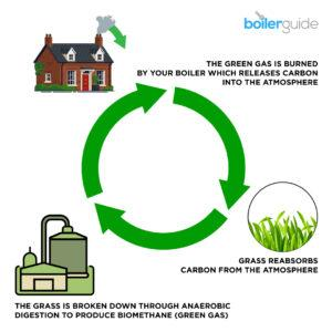 Green gas can be carbon neutral