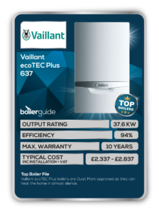 Vaillant ecoTEC Plus 637