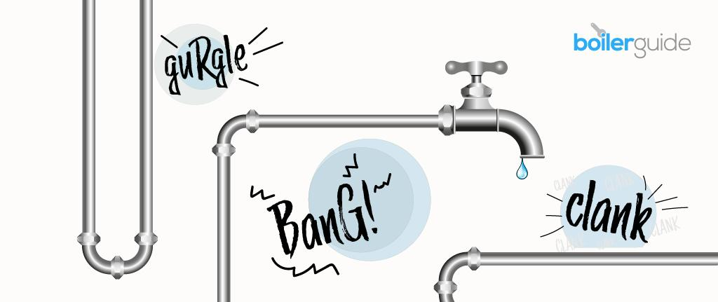 Noisy pipes are a sign of plumbing problems