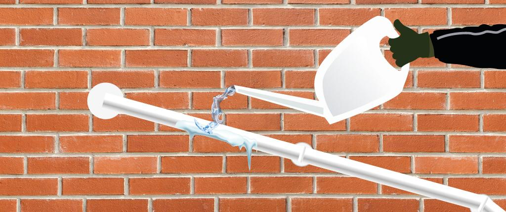 How to thaw a frozen condensate pipe