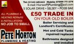 Pete Horton Plumbing & Heating