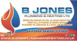 B Jones Plumbing and Heating ltd