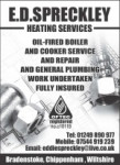 E D Spreckley Heating Services