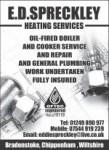 E D Spreckley Heating Services