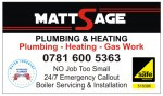 Matt Sage Plumbing Heating And Gas
