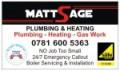 Matt Sage Plumbing Heating And Gas