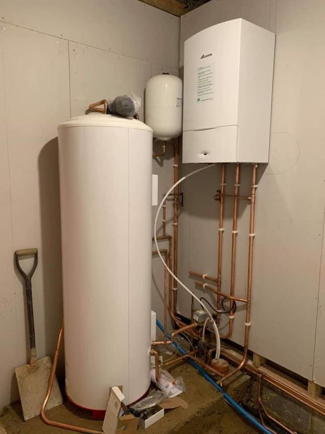 New Full Heating Install