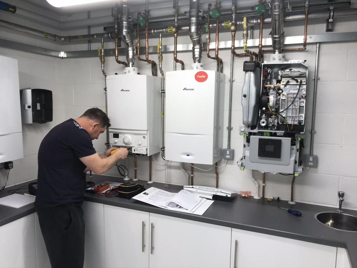 Worcester boiler training course