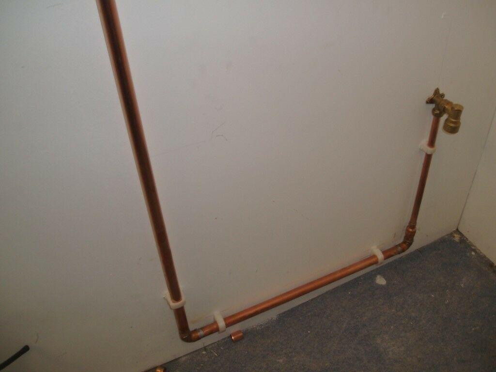 cooker pipework