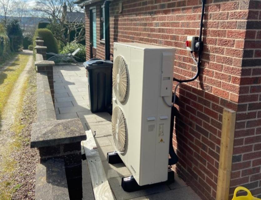 13kW Grant Air Source Heat Pump