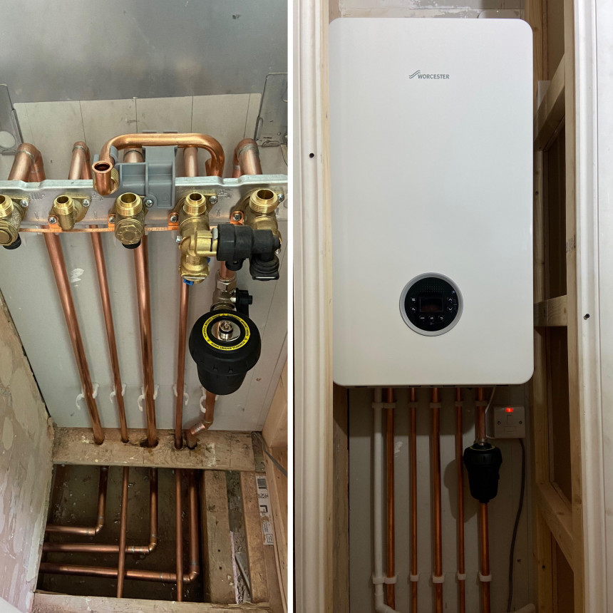 Refurb heating