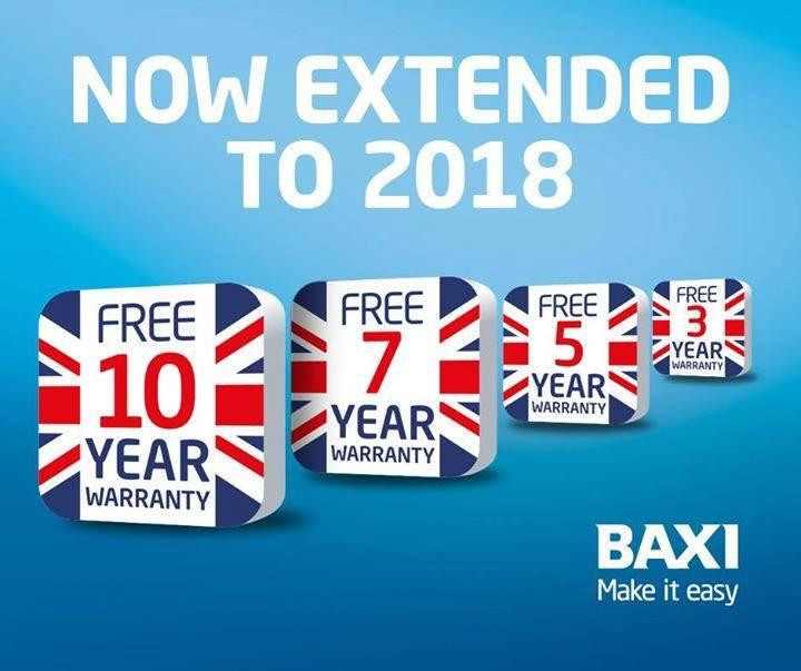Boiler manufacturers warranties from two years up to ten years