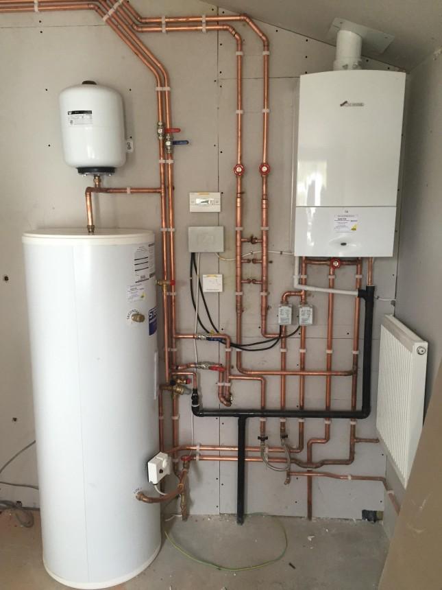 Boiler and mega flow