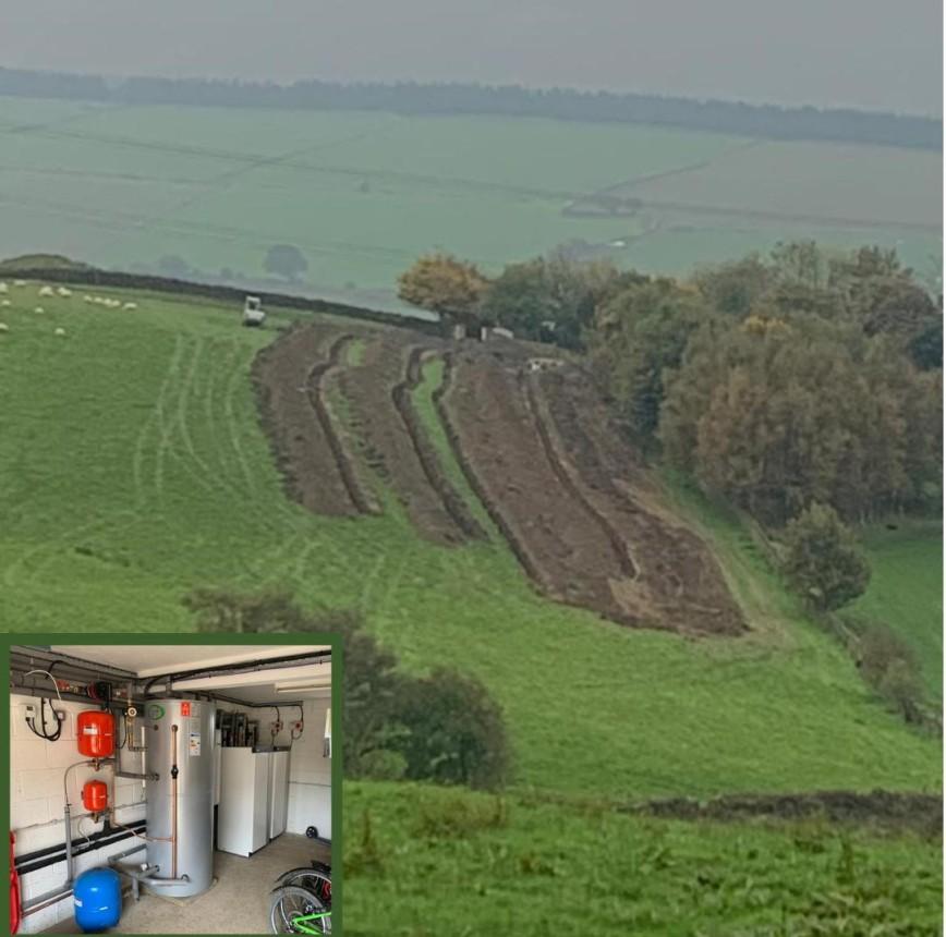 Renovation - Ground Source Heat Pump