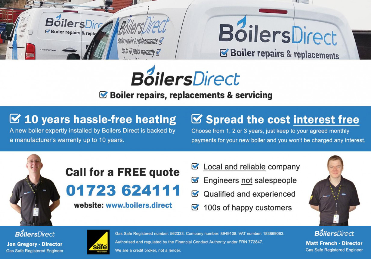 Boilers Direct SCARBOROUGH & BRIDLINGTON of Scarborough | Boiler ...