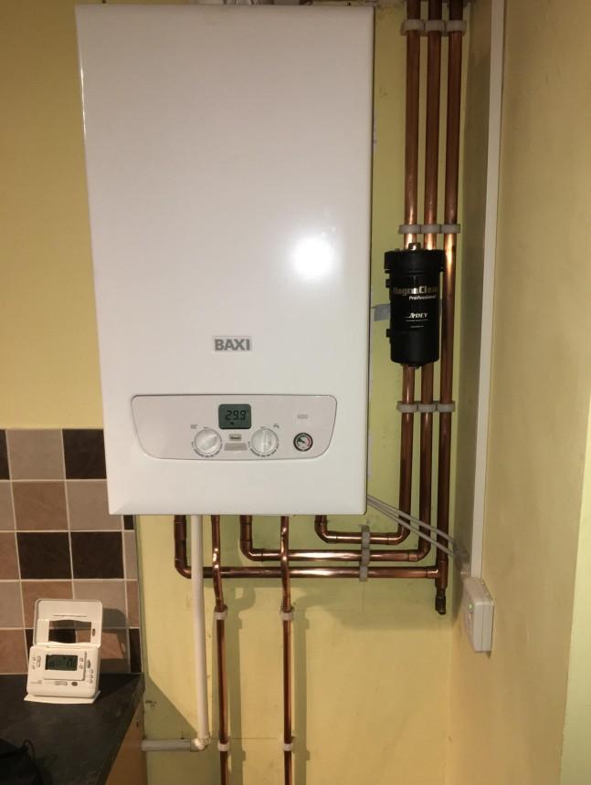 New Baxi Boiler