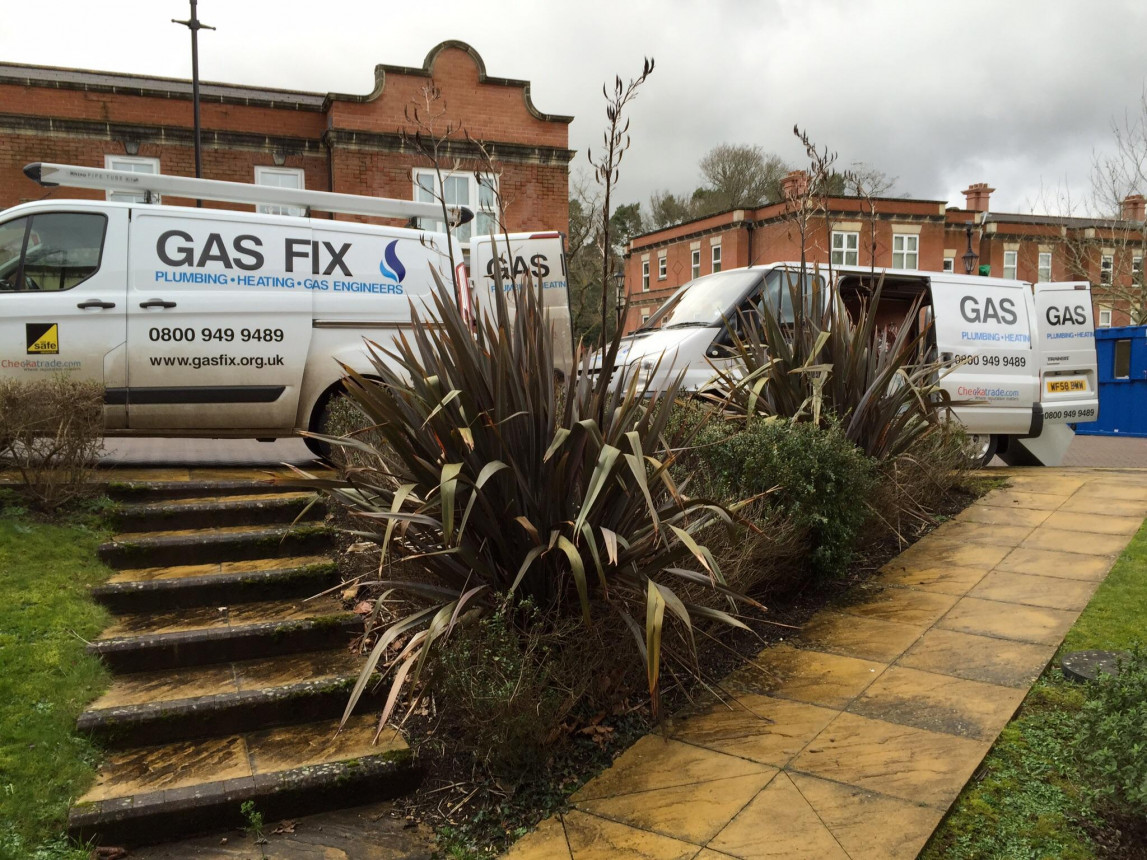 Gas fix vans