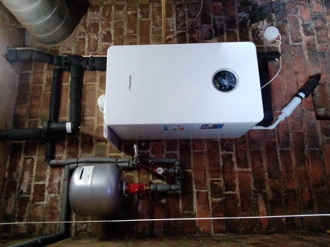 Heat only boiler upgrade