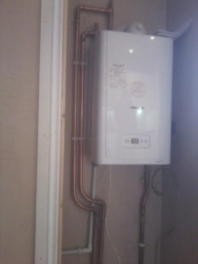 regular boiler installation