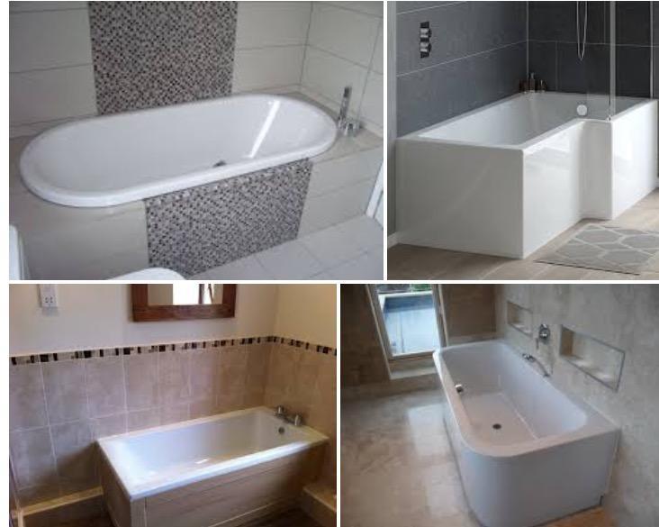 Selection of bath installs