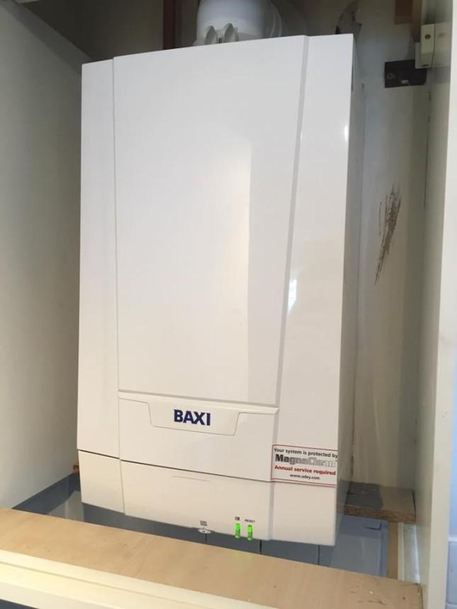 Baxi boiler in Exeter