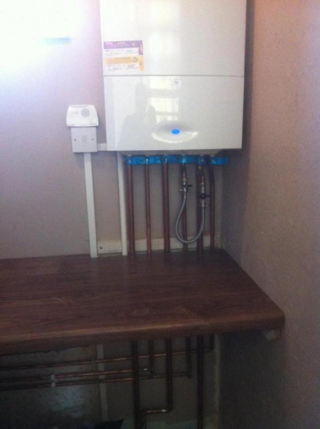 Boiler replacement.