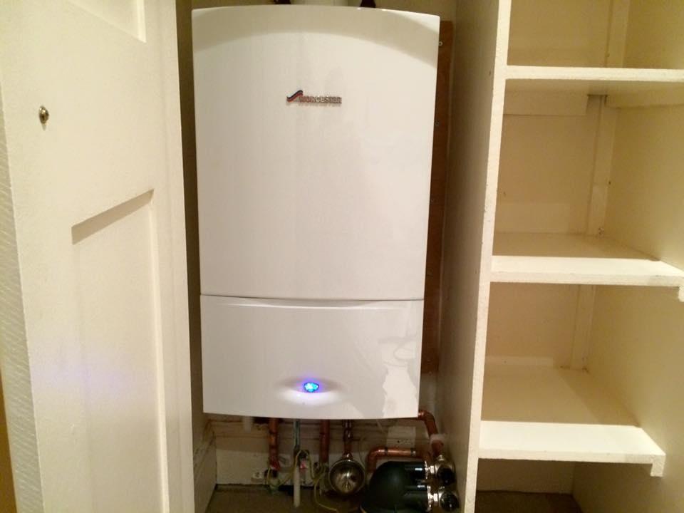 new boiler.