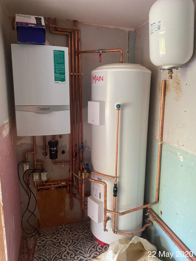 Mega flow and underfloor heating