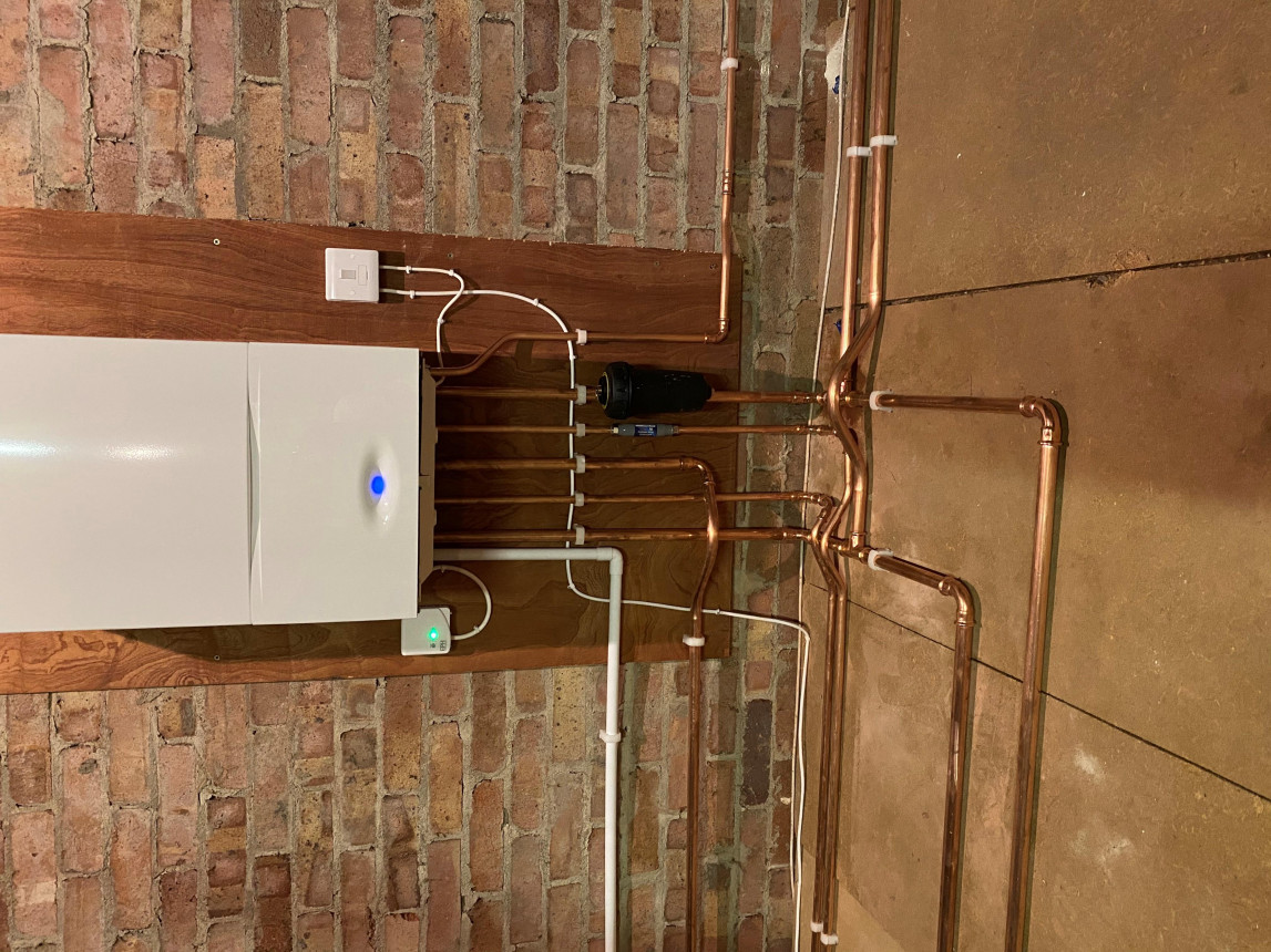 A new Worcester placed in a customer's loft space Oct 2020