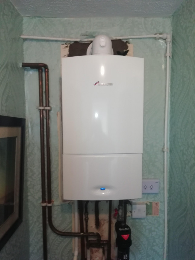 Old inefficient Potterton Replaced