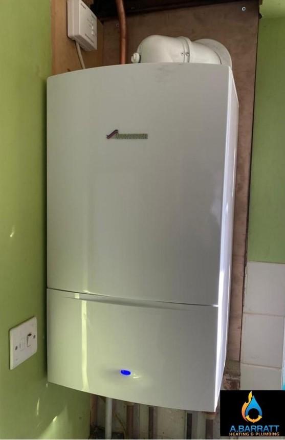 Combination boiler swap