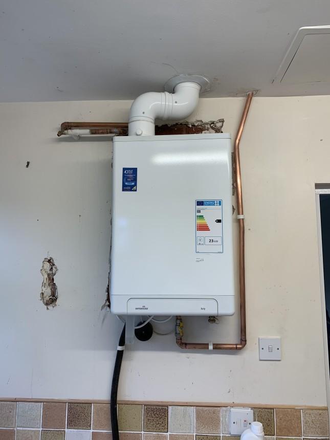 New intergas installation