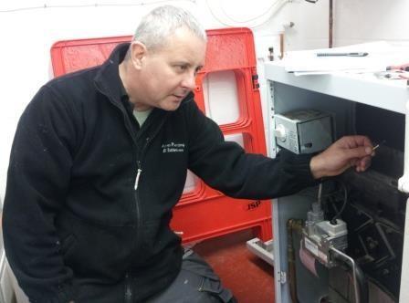 New oil boiler install