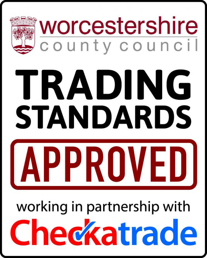 We are a Worcestershire county council approved company