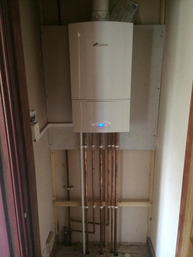 New Combination Boiler