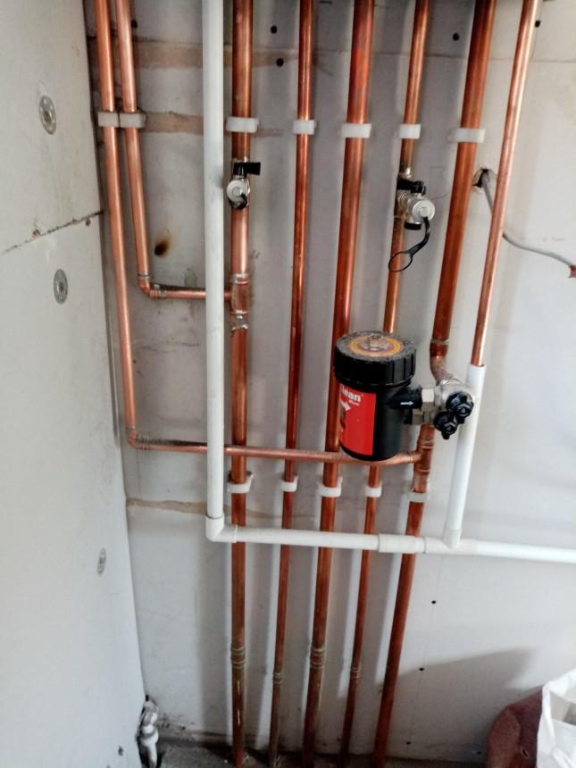Worcester 8000 boiler Installation