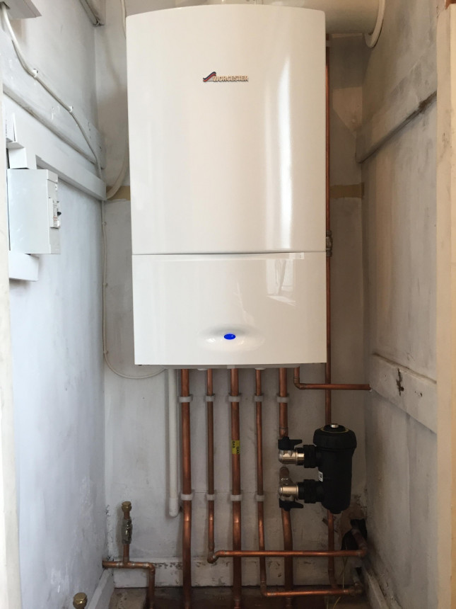 Worcester Bosch Boiler fitted in Bewdley