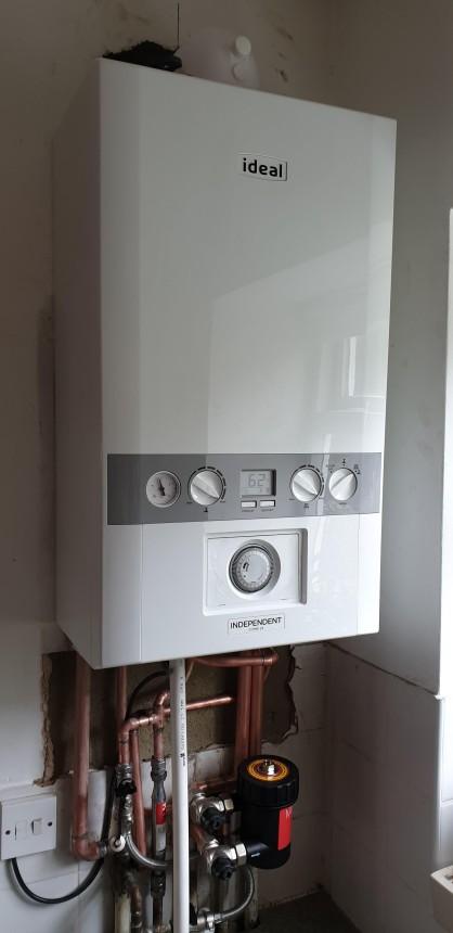 Boiler replacement condensing combi