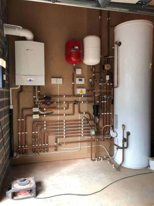 New Worcester boiler & cylinder